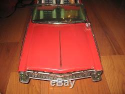 1960's Topper Crusader 101 Battery Op Car Reading Rare Vintage Huge Original Box
