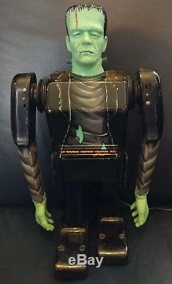 1960's Marx Battery Operated Frankenstein Monster Toy in Original Box R/C