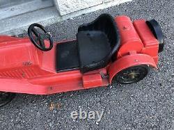 1960's Marx STUTZ BEARCAT Ride-on Childs Toy Car Battery powered NOSTALGIA KIDS