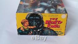 1960s MIGHTY KONG in BOX Battery Toy by MARX King Kong Robot