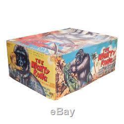 1960s MIGHTY KONG in BOX Battery Toy by MARX King Kong Robot SEE VIDEO