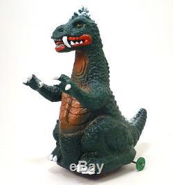 1960s MONSTER ARON Battery Operated Godzilla Toy YONEZAWA Japan RARE