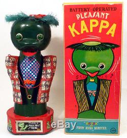 1960s River Monster PLEASANT KAPPA Battery Toy by ATD (ASAKUSA) JAPAN Rare