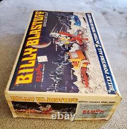 1968 BILLY BLASTOFF Original ELDON BATTERY OPERATED SPACE SCOUT SET In The BOX