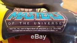 1984 Vintage Motu He-man Laser Light Sword Roleplay Moc Mib Masters Universe Afa