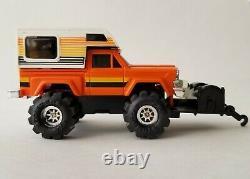 1984 Vintage Schaper Stomper Jeep Workhorse Pristine Collector Case-displayed