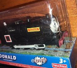 2011 Fisher-Price Thomas and Friends Trackmaster Donald and Douglas Trains New
