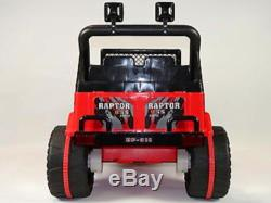 2015 12V Battery Power Wheels RC Ride on Car Toy Jeep Wrangler Style Off Road