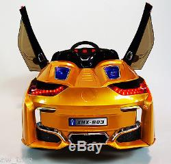 2016 bmw i8 12 volt battery powered electric ride on kids toy car remote