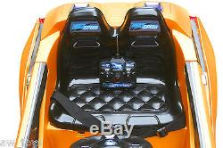 2016 BMW i8 12-volt Battery Powered Electric Ride On Kids Toy Car Remote -Yellow