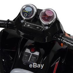 25 Kids Battery Powered ATV Quad 4 Wheeler Ride-On Car with 12V Motor, Orange