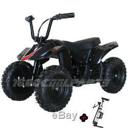 350W Electric ATV Kid Mini Quad Kid Size ATV 4 Wheeler Ride On ATVs