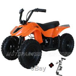 350W Kids ATV Electric ATV Kids Mini Quad 4 Wheeler Ride On ATVs