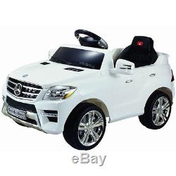 4Mercedes Benz ML350 Licensed 6V Kids Ride On Car MP3 RC Remote Control Electric