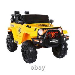 6V Kids Ride On Car Toy Tractor With Trailer Powered Battery Vehicle Toy WithMusic