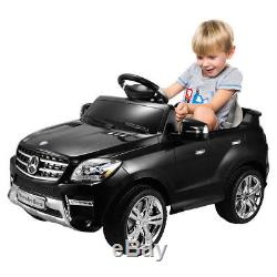 6V Mercedes Benz ML350 Electric Kids Ride On Car Licensed MP3 RC Remote Control
