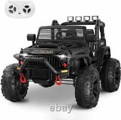 6 Colors Kids Ride on Truck Toy 12V Electric Vehicles Realistic Off-Road UTV