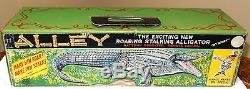 ALLEY Roaring Stalking Alligator Battery Operated Remote Control BY MARX