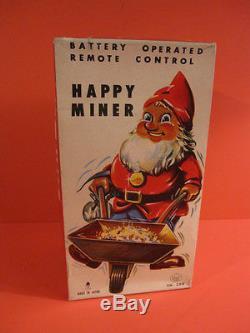 All Original Asahi Happy Miner Dwarf Battery Operated + Original Box Work
