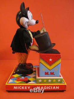 All Original Linemar Mickey The Magician Battery Operated 1960