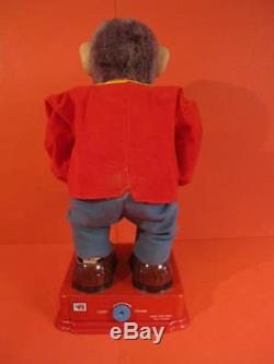 ALL ORIGINAL NOMURA HY-QUE THE AMAZING MONKEY + BOX 1960 Battery operated