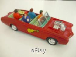 ASC Monkees Mobile TV Show Tin Toy Car Battery Operated Japan