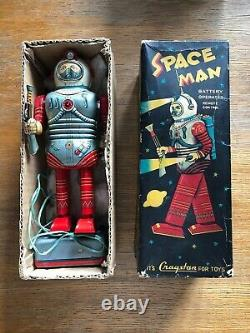 A TN (Nomura) for Cragstan battery-operated Space Man with original box