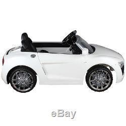Audi R8 Spyder 12V Electric Kids Ride On Car Licensed MP3 RC Remote Control New