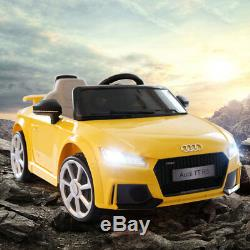 Audi TT Electric Kids Ride Cars MP3 LED Lights Remote Power Wheels 12Volt
