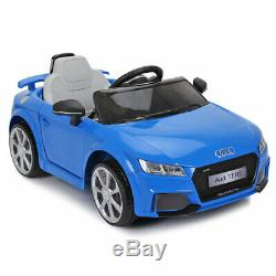 Audi TT RS 12V Kids Ride On Car Toy Licensed Electric 2 Motor Remote Control