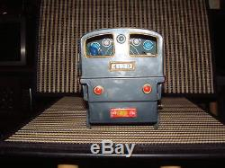BANDAI BATTERY OPERATED, TRAIN, TIN STEAM LOCO NO. 4130 WithBOX & WORKING! RARE