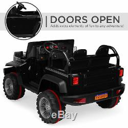 BCP 12V 2.2MPH Kids 2-Seater Ride-On Truck with Parent Control, MP3 Player