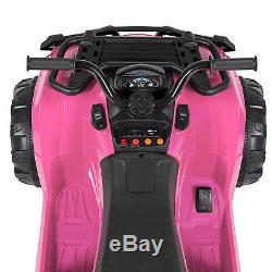 BCP 12V Kids ATV 4-Wheel Ride-On Car with 2 Speeds, MP3, Storage
