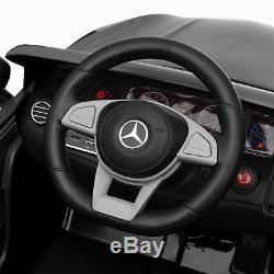 BCP 12V Kids Licensed Mercedes-Benz S63 Coupe Ride-On Car with Parent Control