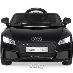 BCP 6V Kids Audi TT RS Ride-On Car with Parent Control, AUX