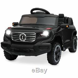 BCP 6V Kids Ride-On Car Truck Toy with RC Parent Control, 3 Speeds, Lights, Horn
