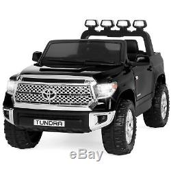 BCP Kids 12V Toyota Tundra Truck Ride-On Car with Remote Control, LED Lights