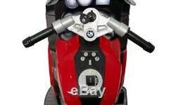 BMW Kids Ride On Motorcycle Electric Bike Toys for Boys Girls Red