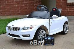Bmw Z4 Electric Kids Ride On Battery Powered Wheels Car Rc Remote