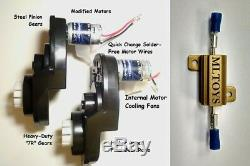 BRM + PAIR of Power Wheels Gearboxes & Motors for F-150 & Raptor SPEED TUNED