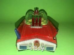 Batman BATMOBILE MIB 12 Battery Operated Cien Ge Red Cien Ge DoorLogo 1966