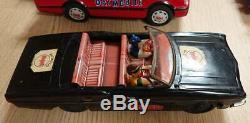 Batman Car BATMAN BATMOBILE Battery Operated 3 set F/S from Japan retro Vintage