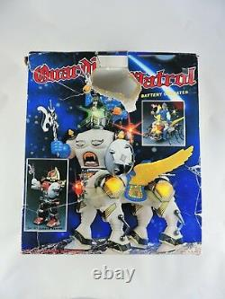 Battery Operated GUARDIAN PATROL 1986 Son Ai Toy withBox SECTAURS knockoff vintage