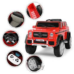 Battery Operated Kids Ride On Car 12V Remote Control Simulation Mercedes Benz