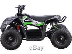 Battery Powered Four Wheeler 36V 500W Ride On Electric Quad ATV Parent Control
