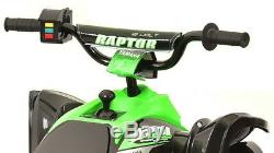Battery-Powered Ride-On Kids ATV 4 Wheeler Quad Toy Electric Wheeler 12-Volt