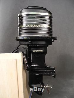 Beautiful Vintage 1957 K&O MERCURY MERC 1000 Battery Operated Toy Outboard Motor