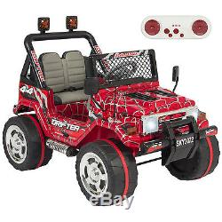 Best Choice Products 12V Ride On Car With Remote Control, 2 Speeds- Spiderman Red