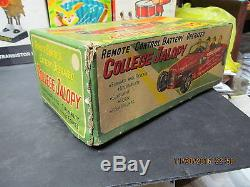 COLLEGE JALOPY BATTERY OPERATED NEAR MINT IN BOX JAPAN WORKS 1950's