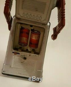 Chief Robotman 1960's Robot KO Yoshiya Japan Tin Battery Operated